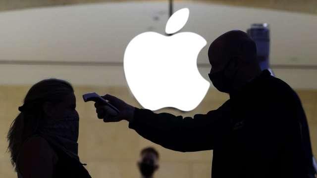 蘋果漲聲響起兩大原因?大摩:iPhone12、新冠病毒 (圖片:AFP)