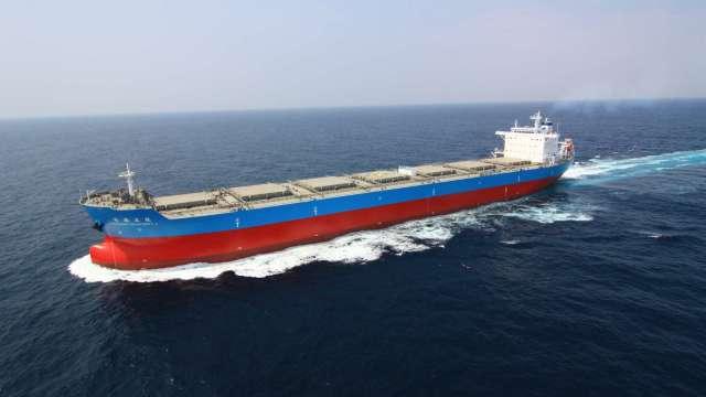 台船榮獲台電公司電昌五號輪塢修決標通知。(圖:台船提供)