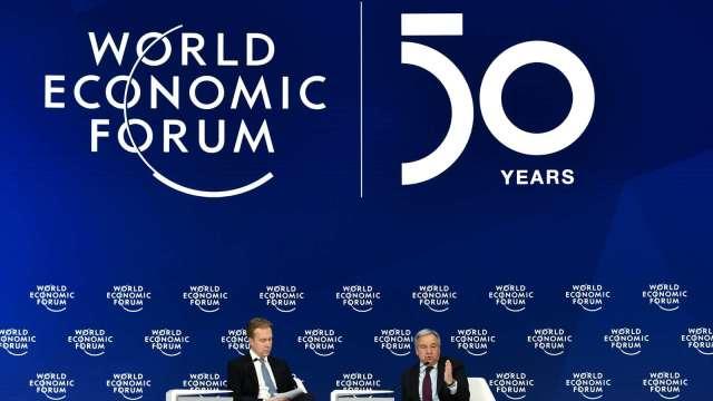 考量歐洲疫情 2021年世界經濟論壇將首度移師新加坡 (圖:AFP)