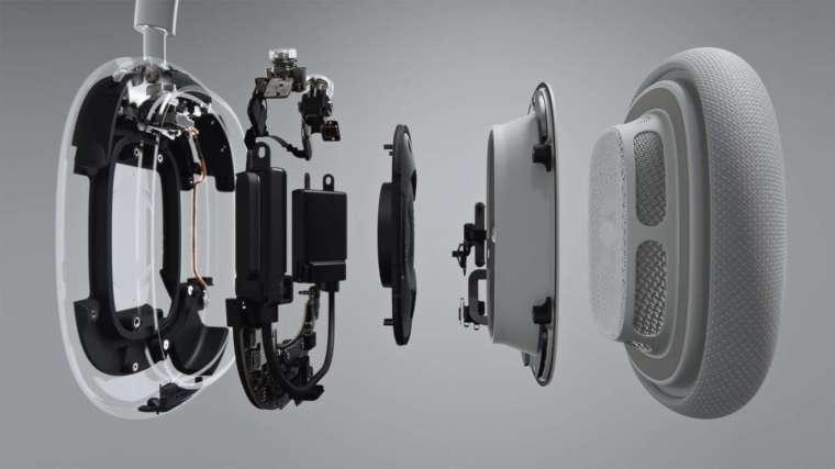 AirPods Max 使用蘋果 H1 晶片 (圖片:蘋果)