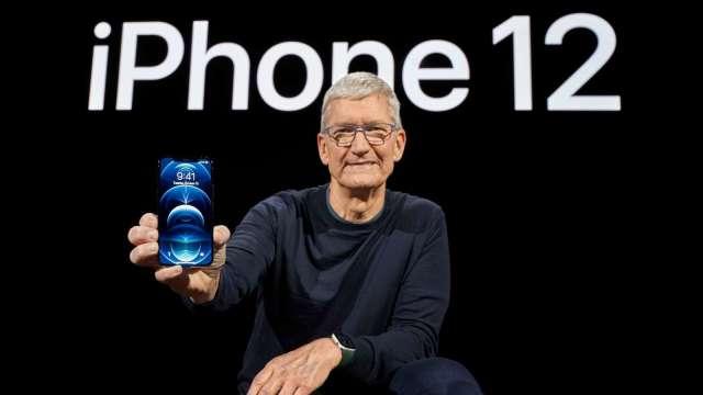 蘋果迷就愛高階!iPhone 12 Pro交期比過往長 瑞信:股價好兆頭!(圖片:AFP)