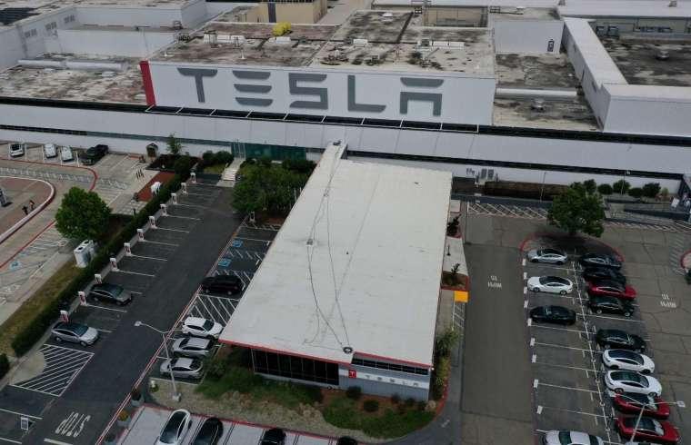 特斯拉加州超級工廠 (圖片:AFP)