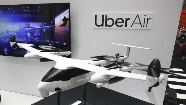 研發太燒錢 Uber再賣空中計程車Elevate部門 (圖片:AFP)