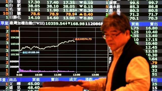 被動元件、雙D立大功 台股放量步步高 漲29點收14390點。(圖:AFP)