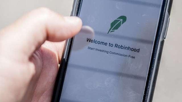 券商平台Robinhood傳已選擇高盛 布局明年IPO(圖:AFP)