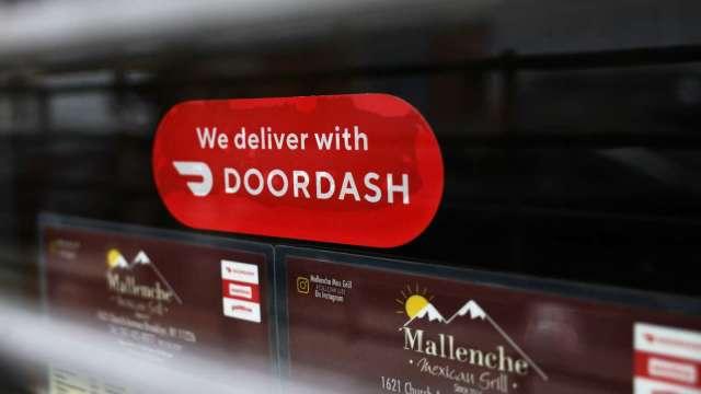 IPO歲末火熱!DoorDash掛牌首日飆 較發行價高逾85%。(圖片:AFP)