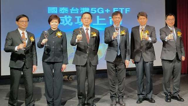 5G ETF國家隊將參與台積電除息 上市首日強勢吸金16.7萬張天量。(圖:國泰投信提供)