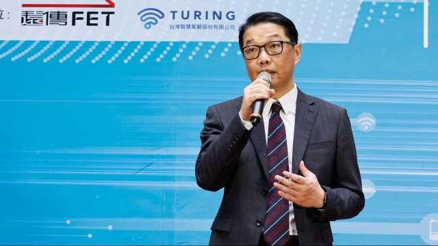 遠傳企業暨國際事業群執行副總經理曾詩淵。(圖:遠傳提供)