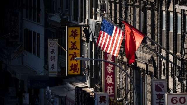 美國商會晚宴 北京派被制裁中國官員出席(圖:AFP)