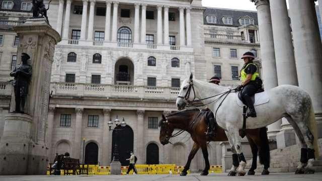 大摩:一旦無協議脫歐 英國股市料下挫6%至10%(圖:AFP)