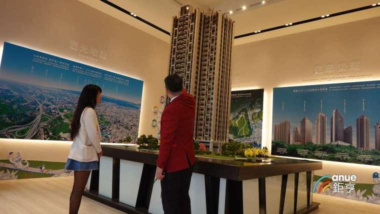 總銷 30 億元的豐邑風禾規劃 35-53 坪格局。(鉅亨網記者張欽發攝)