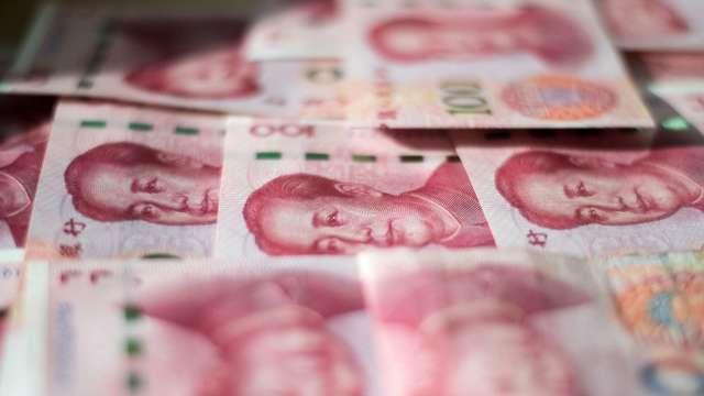 人民幣連漲半年 人行出手緩和升勢。(圖:AFP)