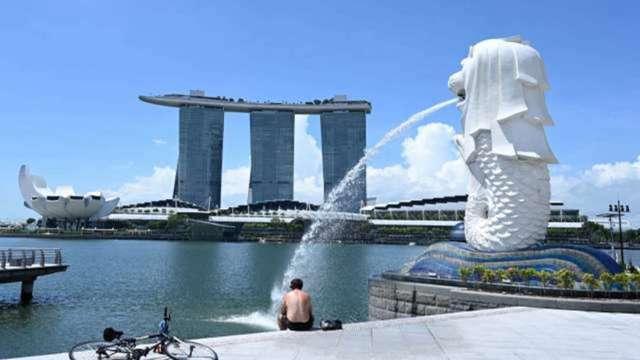 新加坡1月為商務客推出「旅遊泡泡」 幫助旅遊飯店業復甦 (圖:AFP)