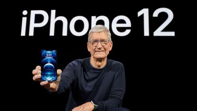 日經:iPhone明年上半年產量年增30%至9600萬支 (圖片:AFP)