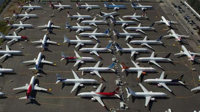 航空業遭警告 疫情期間長期停放的飛機 重啟飛航時恐有飛安疑慮 (圖片:AFP)