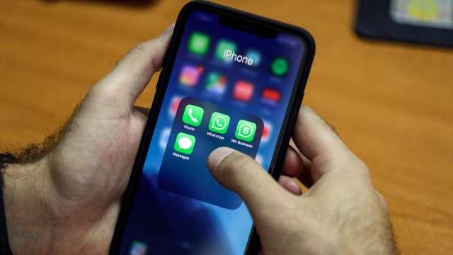 蘋果啟動app隱私標籤規定 廣告贊助版app開發商跳腳(圖片:AFP)