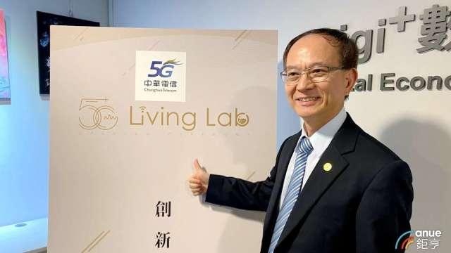 中華電行動通信分公司總經理陳明仕。(鉅亨網資料照)