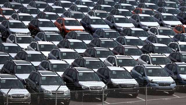日本11月出口年減4.2% 汽車、鋼鐵皆呈現負成長 (圖片:AFP)