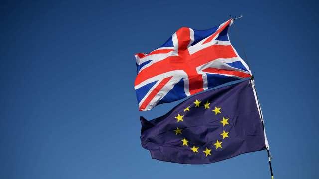 歐盟主席稱脫歐貿易談判取得進展 英鎊兌美元衝2年新高 (圖:AFP)