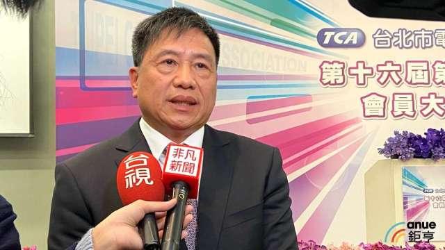 友達董事長暨台北市電腦公會理事長彭双浪。(鉅亨網記者劉韋廷攝)
