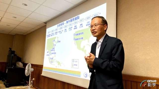 中華電國際電信分公司副總陳錦洲。(鉅亨網記者沈筱禎攝)