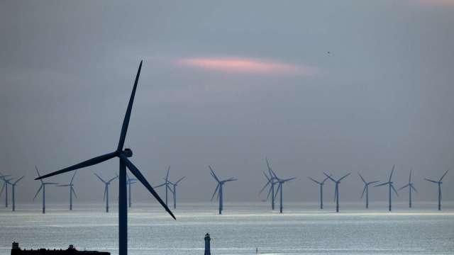 離岸風電助攻 歐盟成我國最大外資來源。(圖:AFP)