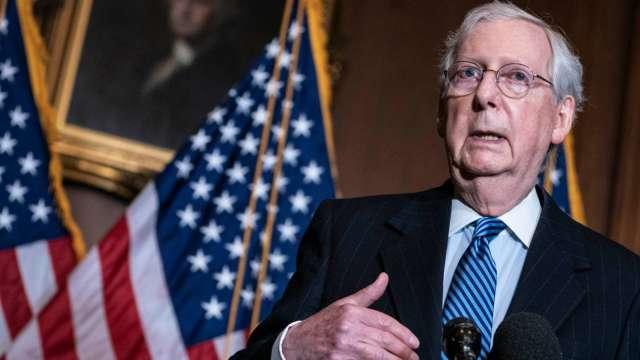 馬不停蹄!美國會即將敲定9000億美元新刺激法案。(圖片:AFP)