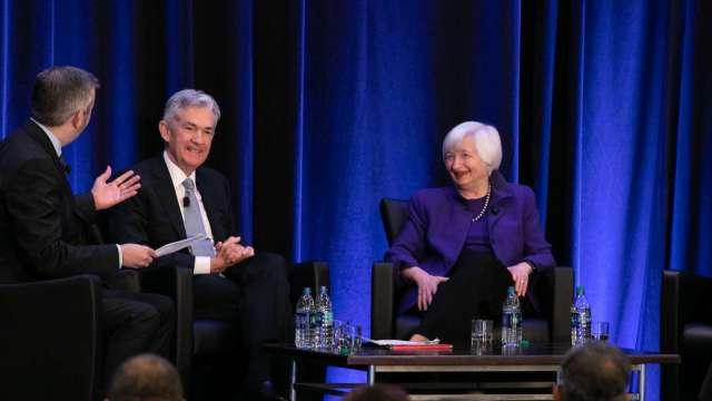 鮑爾掌Fed、葉倫管財政 拜登財經團隊恐創造股市泡沫? (圖:AFP)