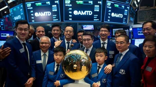 今年中企赴美IPO融資額達117億美元 創6年新高 (圖:AFP)
