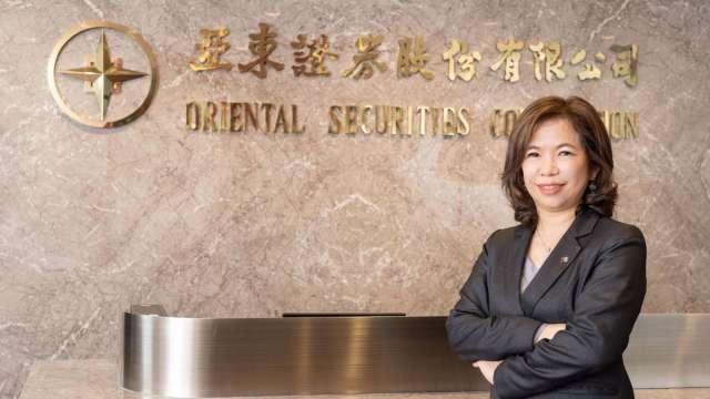 亞東證券總經理王珮恩。(圖:業者提供)