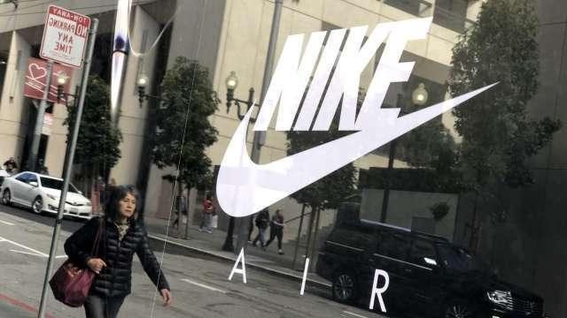 數位營收、大中華業績飆升 Nike盤後大漲5%創歷史新高 (圖:AFP)