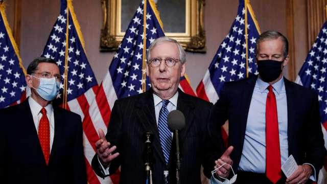 美國會領袖同意9000億美元紓困協議 將付交表決(圖片:AFP)