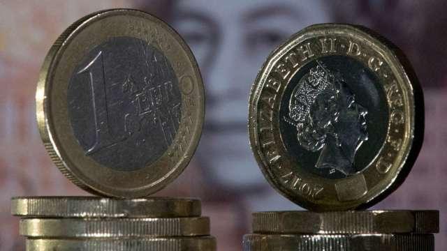 新冠變種病毒、脫歐談判僵局雙利空夾擊 英鎊跌逾2% (圖:AFP)