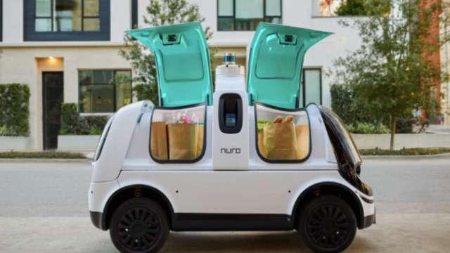 造型可愛的Nuro自駕送貨車R2 (圖:取自Nuro官網)