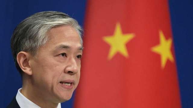 中國外交部發言人汪文斌 (圖:AFP)