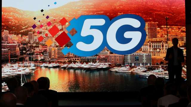5G速度輸遠傳、台灣大 中華電謝繼茂:5G建設扎實 路遙知馬力。(圖:AFP)