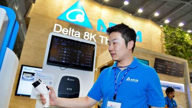 台達電攜手三菱汽車 在泰國推動EV充電業務 (圖片:AFP)