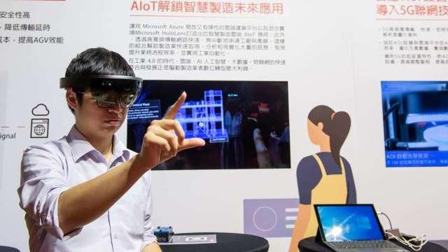 遠傳、台達電、台灣微軟打造全國首座5G智慧工廠。(圖:遠傳提供)