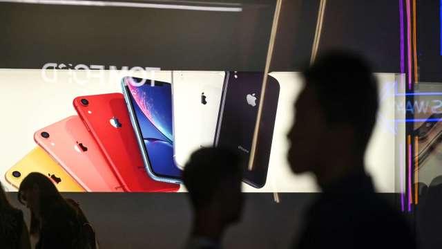 傳京東方取得蘋果認證?官方回應:不清楚(圖片:AFP)