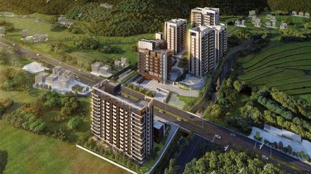 日勝生以三芝5800坪地興建銀養樂齡園區,創新型適老共居圈。(圖:日勝生提供)