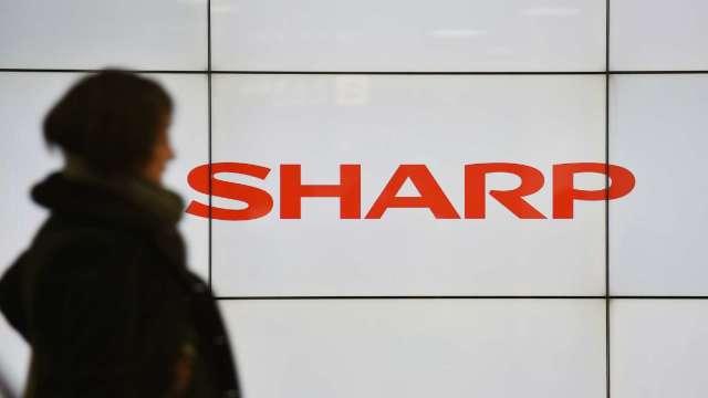 夏普子公司康達智爆出假帳問題 規模約100億日圓 (圖片:AFP)