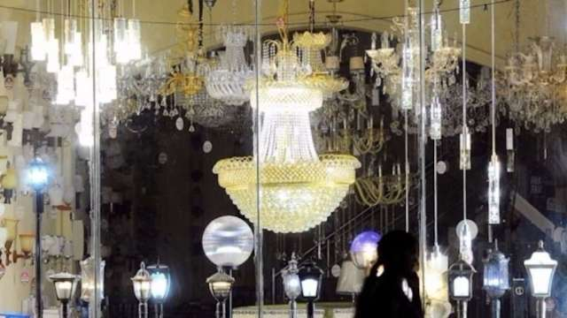 LED照明示意圖。(圖:AFP)