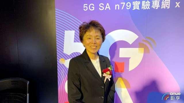 中華電企業客戶分公司總經理吳麗秀。(鉅亨網記者沈筱禎攝)