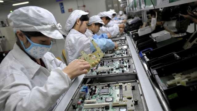 致伸三度處分中國產線予蘋果歐洲營運公司 交易金額逾5億元。(圖:AFP)