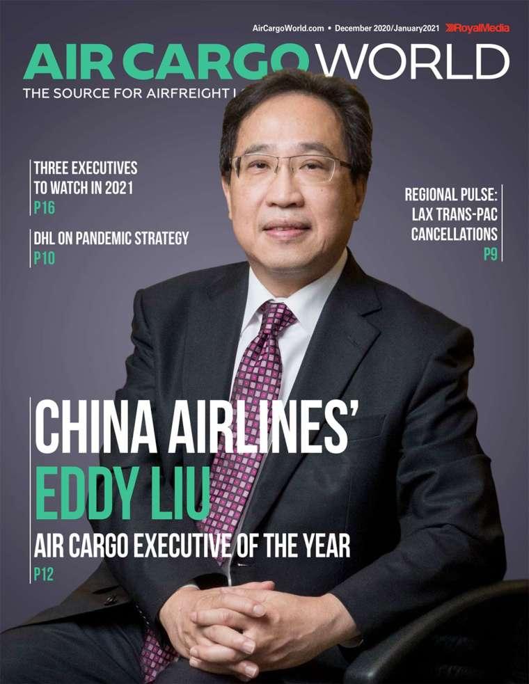 華航貨運處副總經理劉得湶。(圖:華航提供)