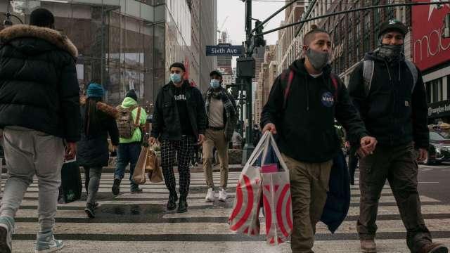 調查:美國今年年末購物旺季零售額增長3% (圖片:AFP)