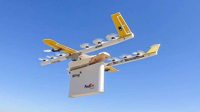 無人機空運競賽!美FAA將核准小型無人機跨人群飛行、夜間飛行(圖片:AFP)