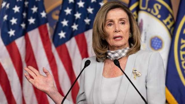 眾院通過川普2000美元紓困金提案 燙手山芋丟給參院共和黨人 (圖:AFP)