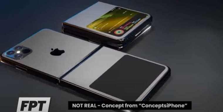 蘋果可能會在 2022 年甚至 2023 年推出首款折疊 iPhone (圖片:翻攝 Front Page Tech)