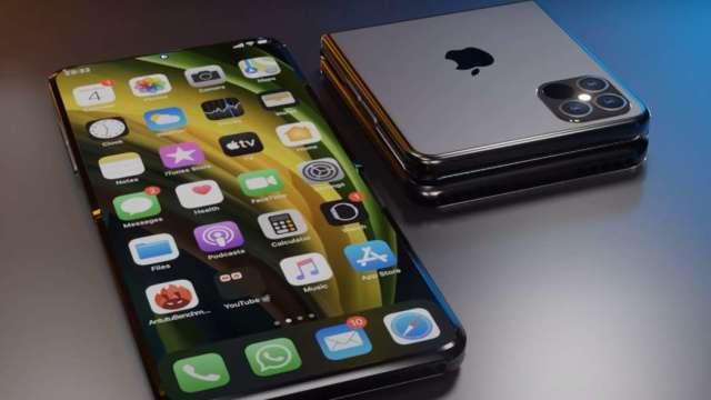 首款折疊 iPhone搶先看!爆料達人:蘋果2022年或2023年推出 (圖片:翻攝Front Page Tech)